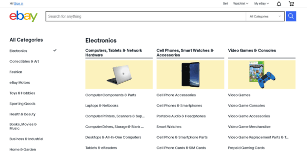 Shop Ebay All Categories Browse And Discover More Ebay