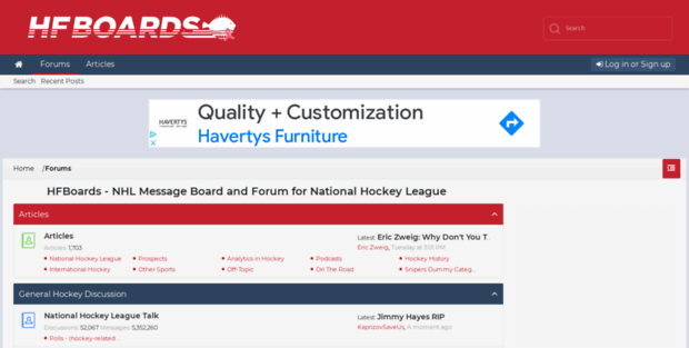 Hfboards Hockey Sfuture Hfboards Nhl Message Board And Forum For National Hockey L