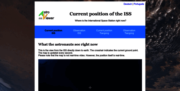 Iss astroviewer ISS Tracker