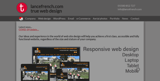 Lance French Kent Web Design Lance French Is An Experienced Web Designe