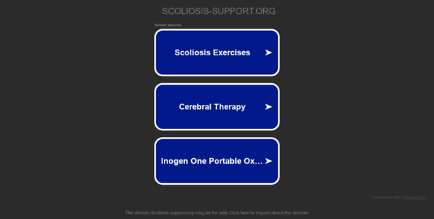 scoliosis-support.org