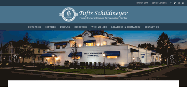 tufts schildmeyer family funeral homes obituaries